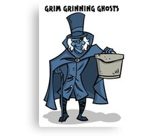 Grim Grinning Ghosts Canvas Print