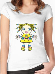 candy baby Women's Fitted Scoop T-Shirt