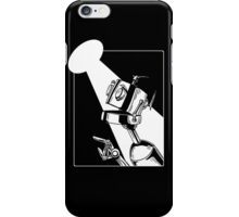 Robot in the Spotlight iPhone Case/Skin