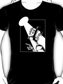 Robot in the Spotlight T-Shirt