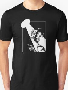 Robot in the Spotlight Unisex T-Shirt
