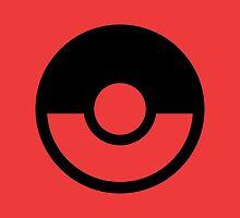 Pokémon Symbol - Super Smash Bros. (black) by hopperograss