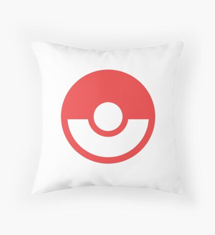 Pokémon Symbol - Super Smash Bros. (color) Throw Pillow