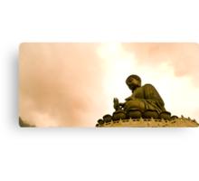 Buddha's Blessing Canvas Print
