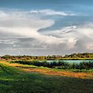 Quiet Beauty - Winnipeg Beach Water Retention Pond by kenspics