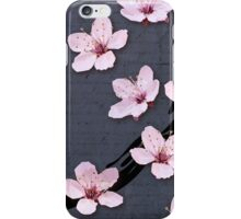 Triangulated Cherry Blossoms iPhone Case/Skin
