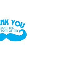 Thank you from the bottom of my MUSTACHE by jazzydevil