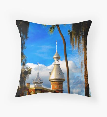 """UT Minarets""  Throw Pillow"