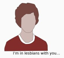 Scott Pilgrim- I'm in lesbians with you Kids Clothes