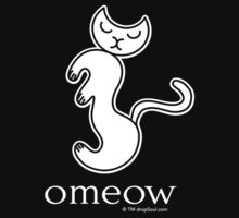 Om Cat Omeow Yoga T-shirt T-Shirt