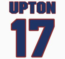 National baseball player Bill Upton jersey 17 by imsport