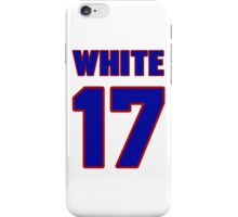 National baseball player Bill White jersey 17 iPhone Case/Skin