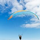Paraglider in Blue by SeeOneSoul