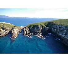 The gut - Montague Island Photographic Print