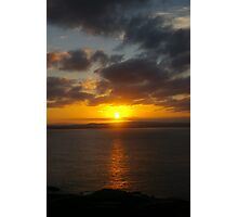 Montague Island Sunset Photographic Print