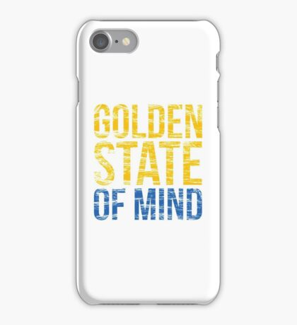 Golden State of Mind  iPhone Case/Skin