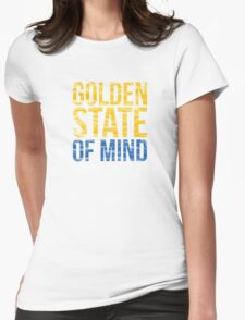 Golden State of Mind  Womens Fitted T-Shirt
