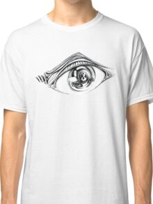 Eye Skeleton on White  Classic T-Shirt