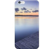 Long Jetty Australia at Dusk seascape landscape iPhone Case/Skin
