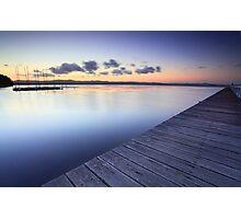 Long Jetty Australia at Dusk seascape landscape Photographic Print
