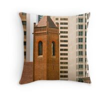 reaching for the sky in Brisbane Throw Pillow