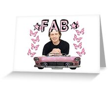 STEVE BUSCEMI FAB SHIRT Greeting Card