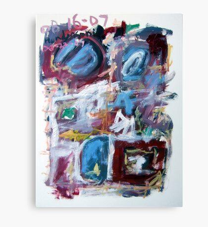 Abstract Composition No. 10 Canvas Print