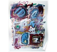 Abstract Composition No. 10 Poster