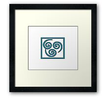 Air Bender -Avatar Framed Print