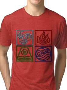 The Four Elements -Avatar Tri-blend T-Shirt