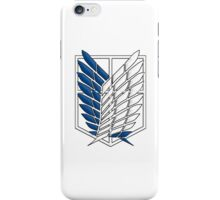 Survey Corps Attack On Titan iPhone Case/Skin
