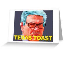 Rick Perry Funny Politics Greeting Card