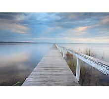 Long Jetty serenity - Australia seascape landscape Photographic Print