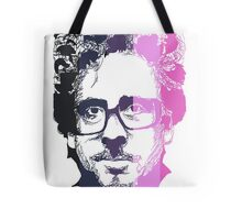 Tim Burton in stripes! Tote Bag