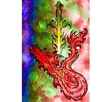 Magical Serpent Sword Photographic Print
