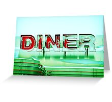 Rosie's Diner Greeting Card