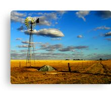 A Corrigin Windmill Canvas Print