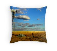 A Corrigin Windmill Throw Pillow