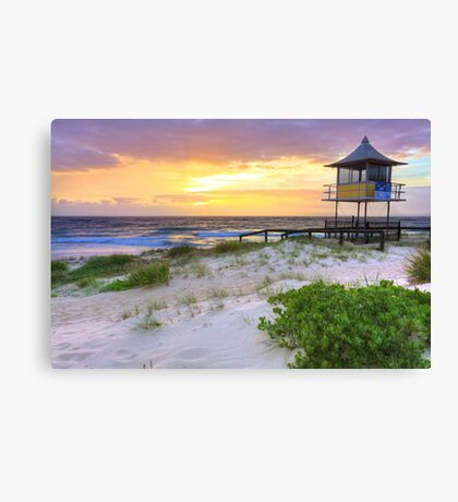 Beautiful sunrise at The Entrance, Central Coast, Australia seascape landscape Canvas Print