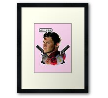 Jimmy is bae  Framed Print