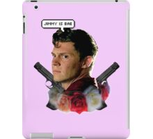 Jimmy is bae  iPad Case/Skin