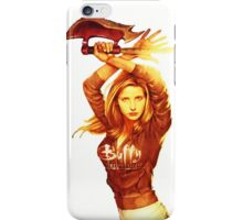 Fight like a girl iPhone Case/Skin