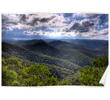 Wollemi National Park, Mountain Lagoon, NSW, Australia Poster