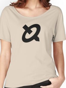 R.O.B. Symbol - Super Smash Bros. (black) Women's Relaxed Fit T-Shirt