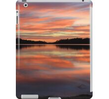 Red Sunrise Reflections at Narrabeen, Australia seascape landscape iPad Case/Skin
