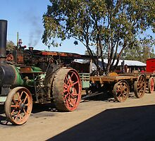 IT ALL STARTED IN THE STEAM AGE by boydcarmody
