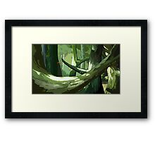Surrounded by Giants Framed Print