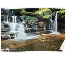 Somersby Waterfalls Australia landscape Poster