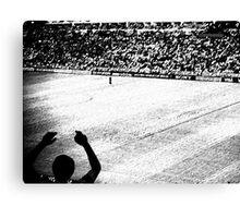 World Cup Black & White Canvas Print