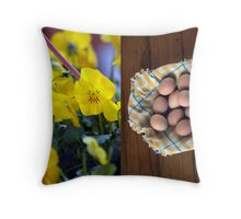 Happy Easter 2. Throw Pillow